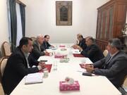 دیدار مدیرعامل سازمان منطقه آزاد انزلی با سفیر ایران در روسیه