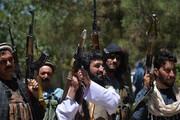 ببینید | لحظه فرار میلیمتری یکی از اعضای طالبان از مرگ با موشک