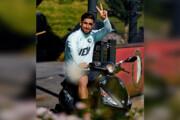 ببینید | موتورسواری جالب علیرضا جهانبخش در تمرین فاینورد