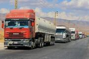 کاروان جدید تانکرهای سوخت ایران وارد لبنان شد
