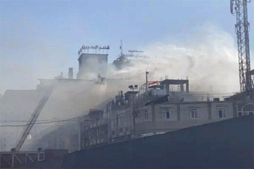 ببینید   آتشسوزی گسترده یک هتل در کربلا