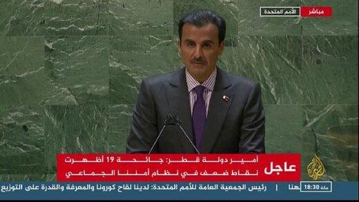 امیر قطر: هیچ راهی برای حل اختلافات با ایران جز گفتگوی عقلانی وجود ندارد