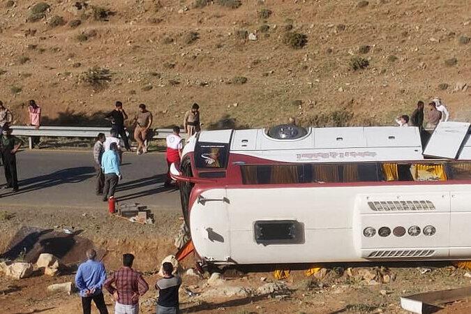 پرونده واژگونی اتوبوس خبرنگاران محیط زیستی چه شد؟