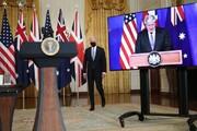 دیدار جانسون و بایدن در کاخ سفید