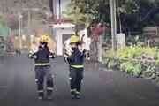 ببینید | تلاش آتش نشانان اسپانیایی برای نجات گوسفندان از دل آتش
