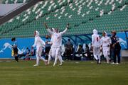 ببینید | شادی بانوان ملی پوش فوتبال بعد از برد برابر بنگلادش