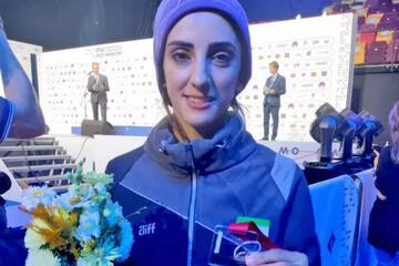 شاهکار دختر سنگنورد ایران در مسابقات جهانی