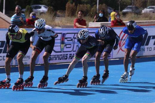 پایان دومین مرحله انتخابی تیم ملی اسکیت سرعت آقایان