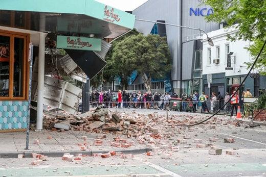 ببینید | تصاویر از زلزله شدید امروز در ملبورن و تخریب برخی منازل
