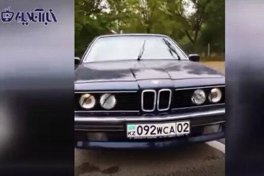 ببینید | امکانات حیرتانگیز BMW سری شش مدل ۱۹۸۸