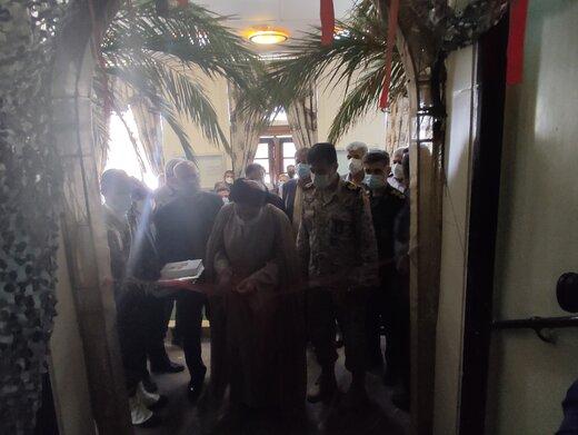 نمایشگاه «لباس سربازی» در فرهنگسرای نفت آبادان بر پا شد