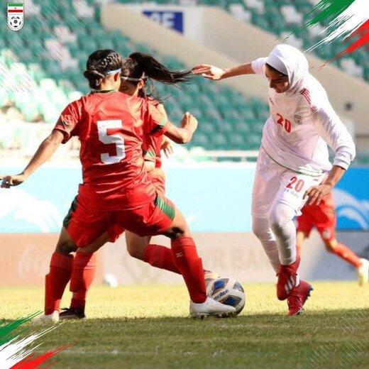 تصاویری از بازی تیم ملی بانوان ایران و بنگلادش