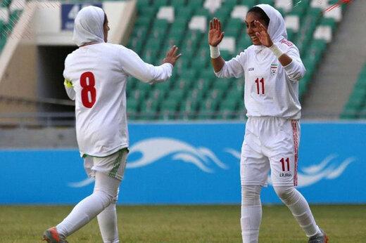 ببینید | آتش بازی دختران فوتبالیست ایران مقابل بنگلادش