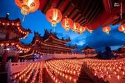 ببینید | جشنهای خیابانی باشکوه چینیها به مناسبت آغاز پاییز
