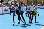 پایان دومین مرحله انتخابی تیم ملی اسکیت سرعت بانوان