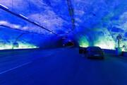 ببینید | طولانیترین و عمیقترین جاده تونلی جهان در نروژ