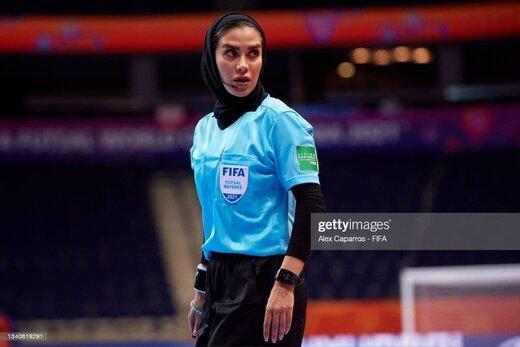 داور ایرانی فینال جام جهانی فوتسال غافلگیر شد!