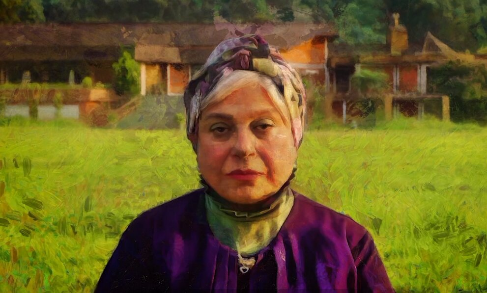 گریمِ چهره گوهر خیراندیش در سریال «نوبت لیلی»/ عکس