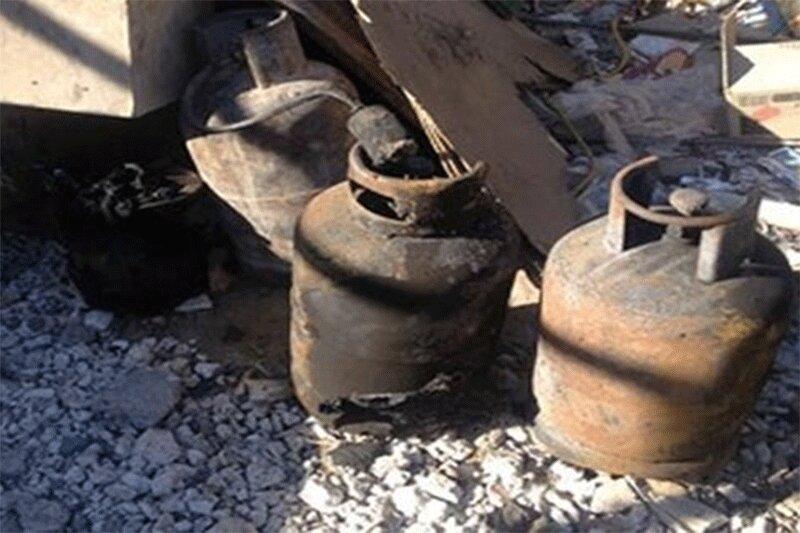 ببینید | لحظه هولناک انفجار مرگبار کپسول گاز در یک مغازه در چین