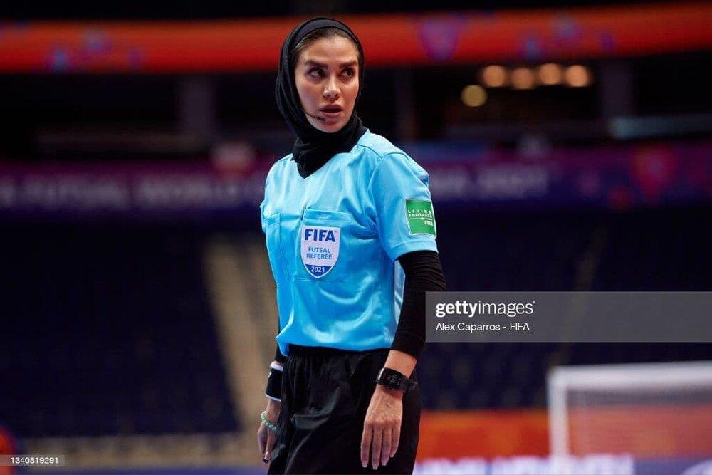 گلاره؛ زن افتخارآفرین ایرانی در جام جهانی فوتسال مردان/عکس
