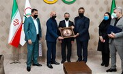 امضای تفاهمنامه همکاری بین فدراسیونهای اسکواش ایران و عراق