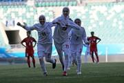 ببینید | ضربات پنالتی تیم ملی بانوان ایران در برابر اردن؛ صعود دختران فوتبالیست به جام ملتها