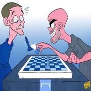 مهارت گواردیولا در شطرنج رو ببینید!