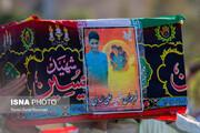 تصاویر | خاکسپاری پیکر «علی لندی» نوجوان فداکار ایذهای