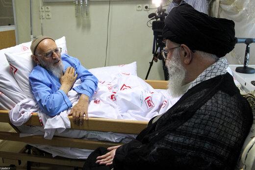 Supreme Leader condoles demise of Ayatollah Hassanzadeh Amoli