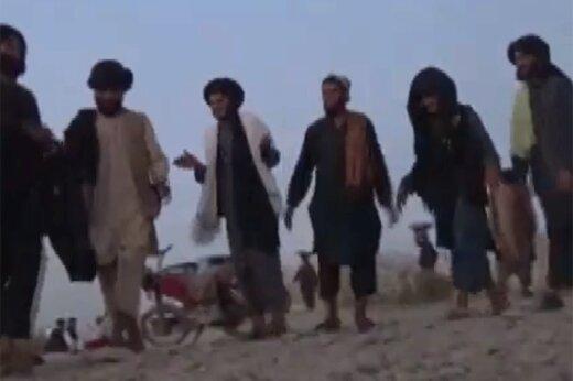 ببینید | رقص و آواز نیروهای طالبان در غروب آفتاب