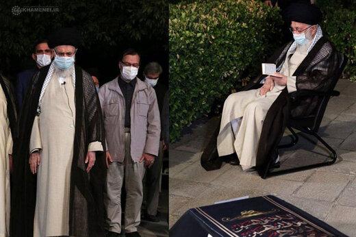 ببینید   تصاویری از اقامه نماز رهبر معظم انقلاب بر پیکر آیتالله حسنزاده آملی