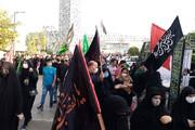 تصاویر | پیاده روی جاماندگان اربعین حسینی در تهران