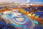 ببینید | تایملپس تماشایی از نحوه ساخت سایت اکسپو ۲۰۲۰ دبی در بیابان