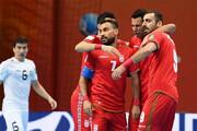 ببینید | پیروزی 2 بر صفر تیم ملی فوتسال ایران مقابل قزاقستان در نیمه نخست