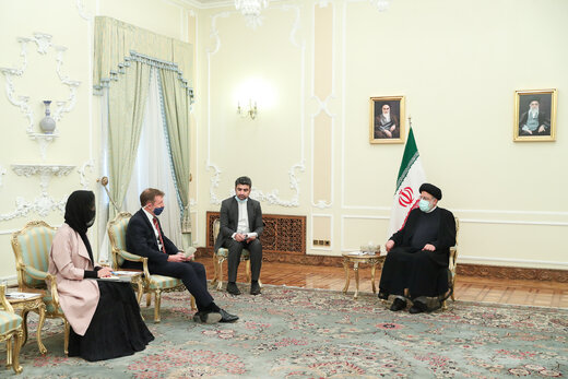 President Raisi says Iran favors relations based on mutual respect