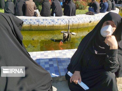 آیین تشییع پیکر علامه حسنزاده آملی