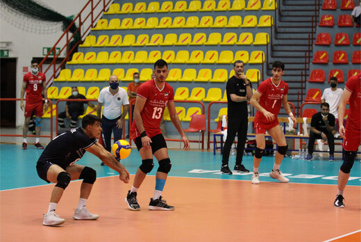 برتری والیبال ایران در جام جهانی جوانان
