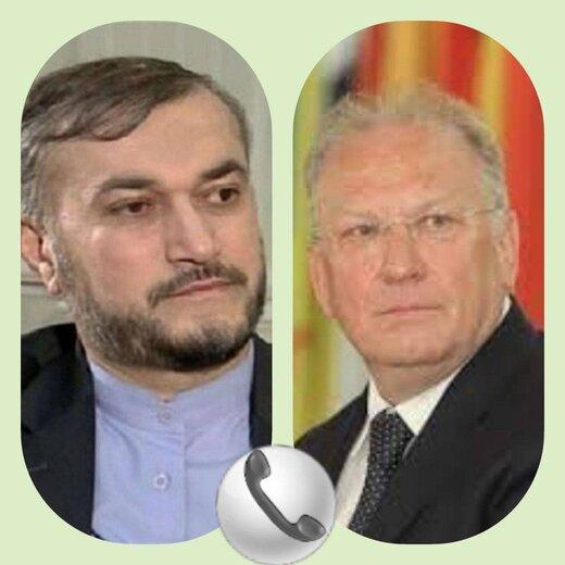 گفتگوی تلفنی وزیران خارجه ایران و بلغارستان