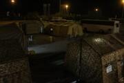 بیمارستان تخصصی سیار ۳۲ تخت خوابی شهید باکری در پایانه مرزی مهران مستقر شد