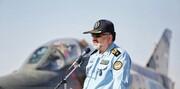 فارغالتحصیلی خلبانان اف ۴ در همدان و رونمایی از تندیس شهید نوژه با حضور امیر واحدی