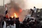 ببینید | انفجار جسمی ناشناخته در میدان التحریر بغداد و مرگ 5 نفر