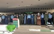 تشییع پیکر امیر محققی با حضور فرماندهان ارتش