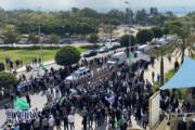 تصاویر | مراسم تشییع پیکر همسر امام موسی صدر در لبنان