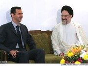 خیال پردازی یک رسانه داخلی در مورد جزییات دیدار سید محمد خاتمی و بشار اسد!