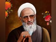 مراسم بزرگداشت علامه حسن زاده آملی در فضای باز مسجد امام خمینی بازار تهران