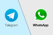 عکس | کنایه سنگین تلگرام به واتساپ