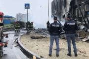 ببینید |سقوط هواپیما در حومه میلان ایتالیا؛ جانباختن همه سرنشینان