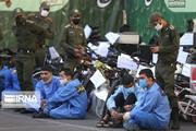تصاویر | اراذل و اوباش تهران در دام پلیس افتادند