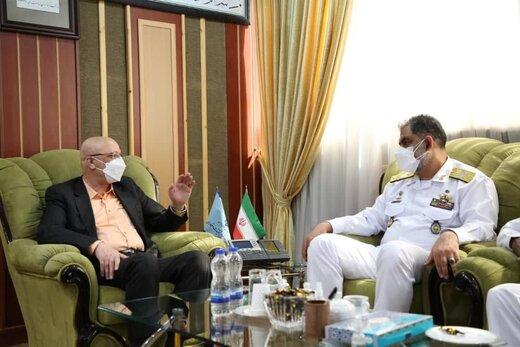 جزییات دیدار امیر دریادار ایرانی با وزیر علوم