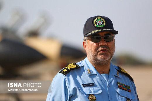 نیروی هوایی ارتش منتظر فرمان فرماندهی کل قوا است